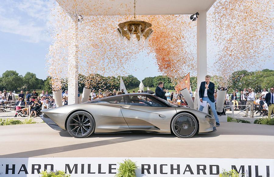 McLaren Speedtail Hyper GT Concours of Elegance 4