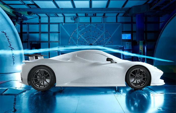 Automobili Pininfarina Battista Electric Hypercar Wind Tunnel Testing