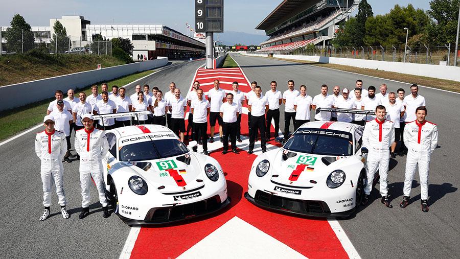 Porsche 911 RSR WEC Prologue