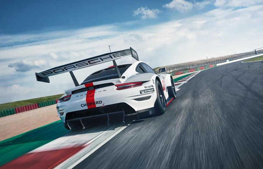 Porsche 911 RSR WEC 8