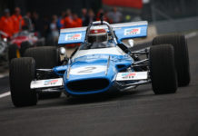 Sir jackie Stewart Reunited With Matra MS80-02 Silverstone Classic