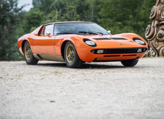 1967 Lamborghini Miura P400 by Bertone RM Sothebys