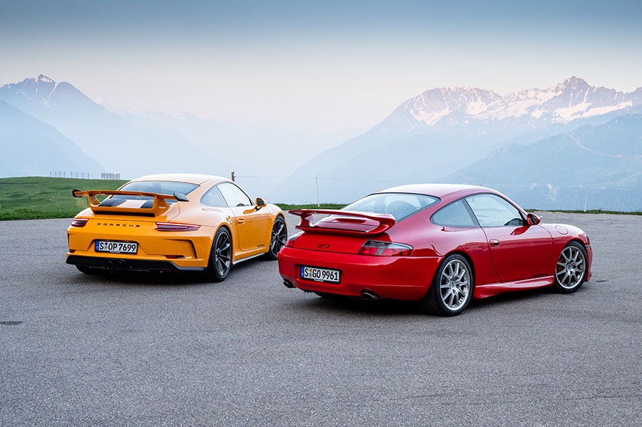 20 Years of the Porsche 911 GT3