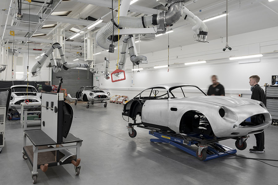 Aston Martin DB4 GT Zagato Continuation Build