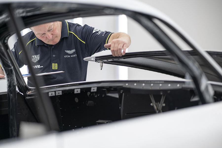 Aston Martin DB4 GT Zagato Continuation Build