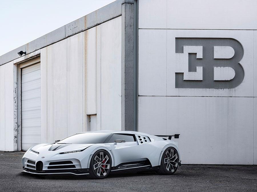 Bugatti Centodieci Unveiled