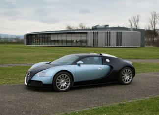 Bugatti EB110 Veyron Value Increase