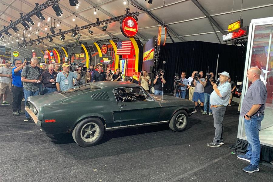 Bullitt Mustang Hero Car Mecum Kissimmee Auction 2020