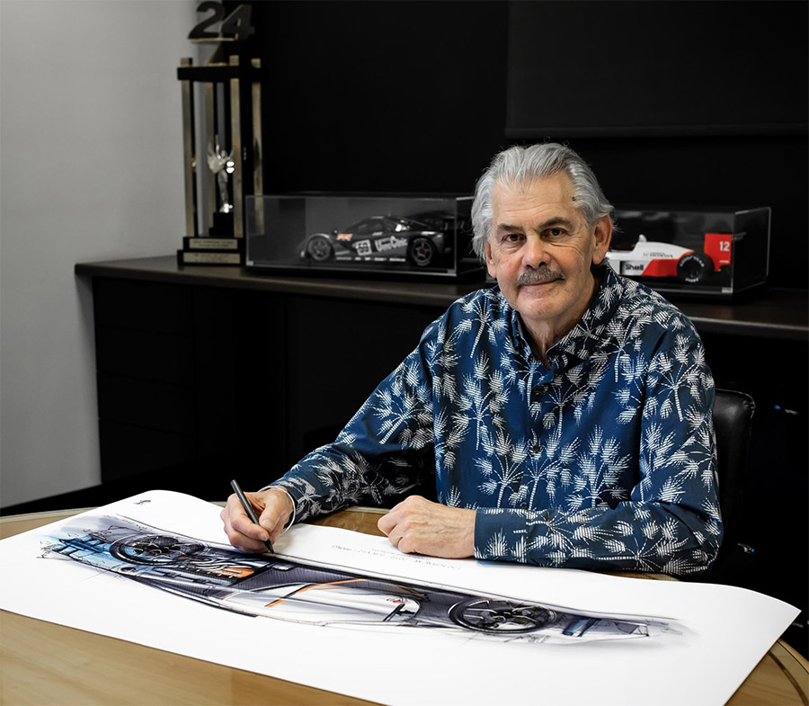 Canepa Gordon Murray Automotive T50 Rep