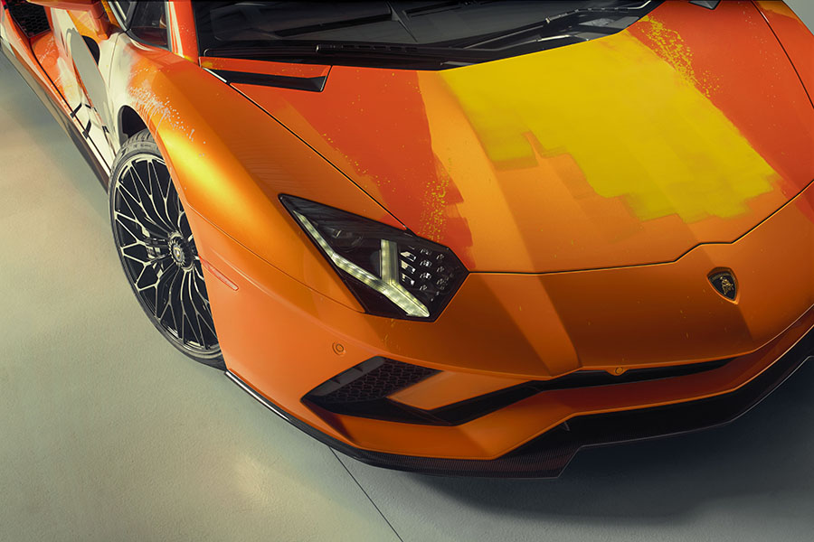 Lamborghini Aventador S Skyler Grey Artist