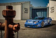 Loris Bicocchi Bugatti Test Driver