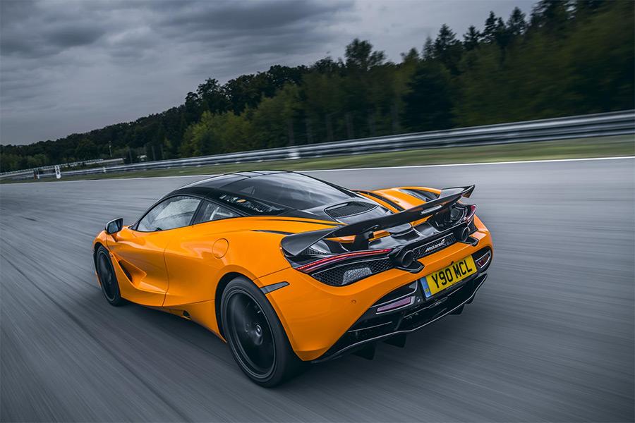 McLaren 720S Carbon Fiber Active Spoiler