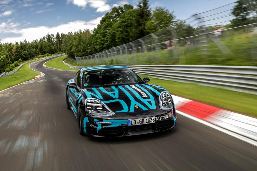 Porsche Taycan Nurburgring Record