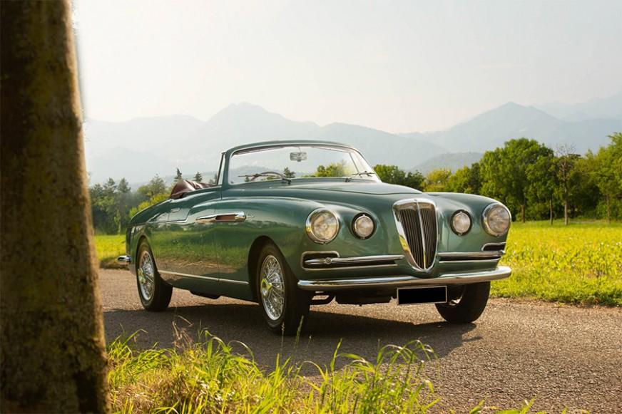 1953 Lancia Aurelia B52 Spider by Vignale for sale