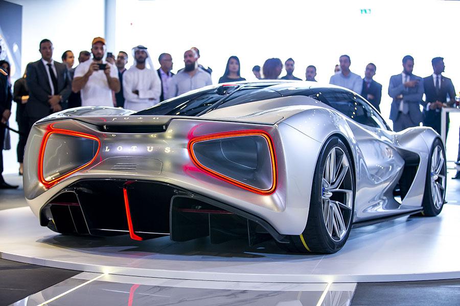 Lotus Evija World Tour UAE