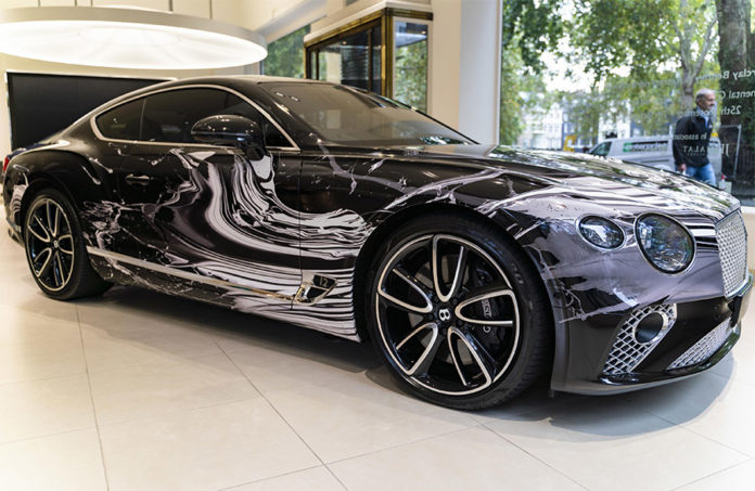 Bentley Continental GT Automotive Artwork