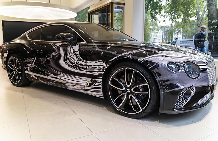 Bentley Continental GT Automotive Artwork