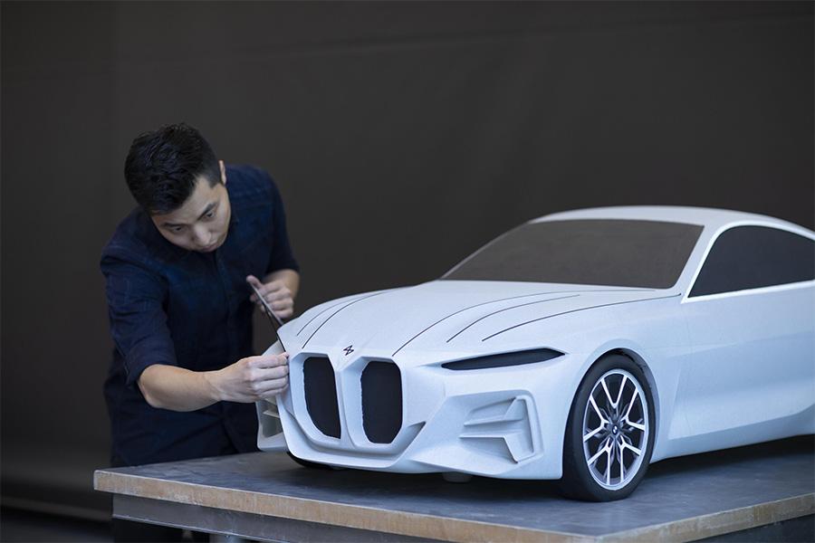 BMW Concept 4 Frankfurt Motor Show