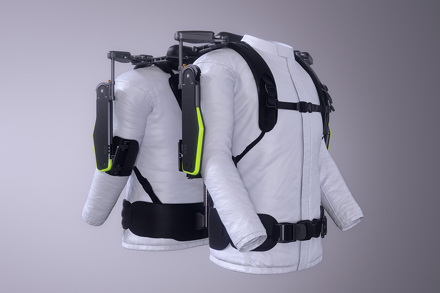 Hyundai Wearable Vest Exoskeleton