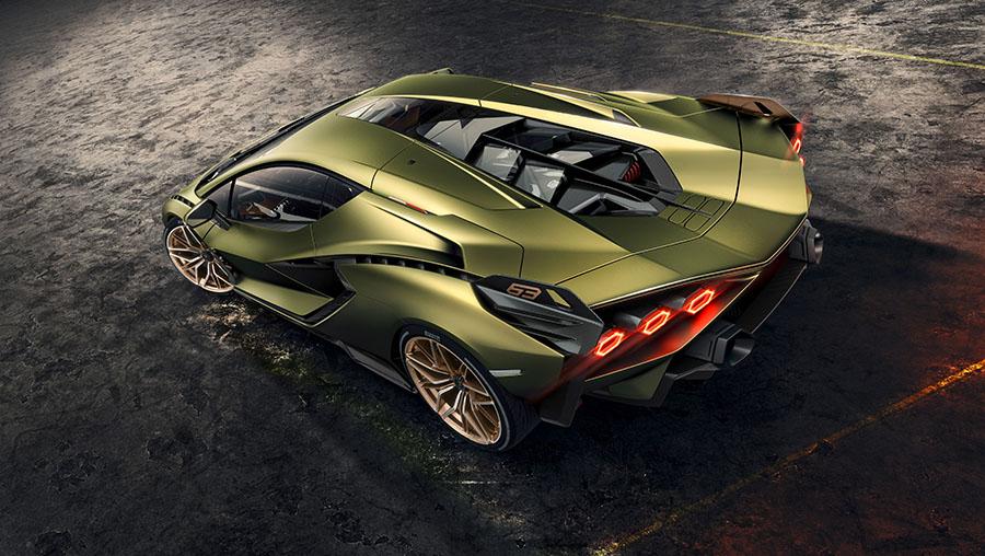 Lamborghini Sián Limited Edition Hybrid Super Sports Car