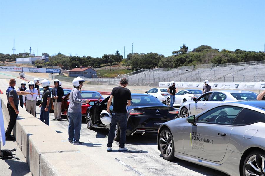 Lexus Performance Driving School at Laguna Seca