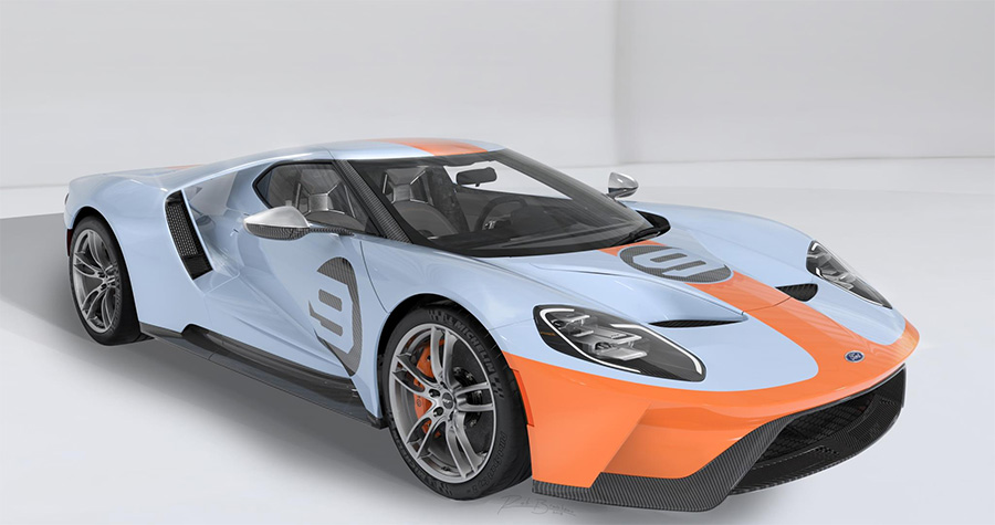 Petersen Automotive Museum Ford GT Allocation Auction