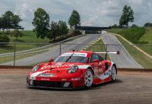 Porsche 911 RSR Coke Livery Petit Le Mans
