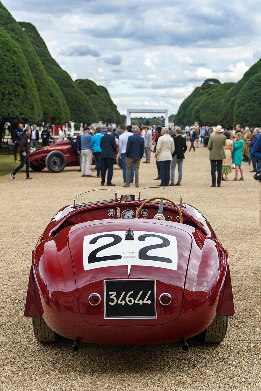 Concours of Elegance Ferrari 166MM