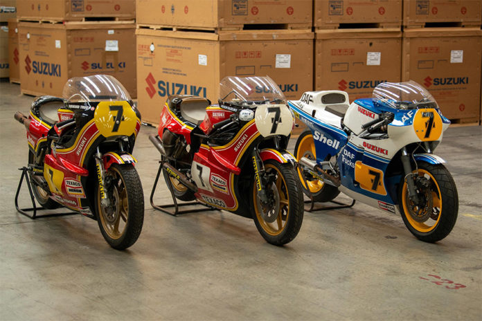 Suzuki Restore Barry Sheene Bikes Motorcycle Live