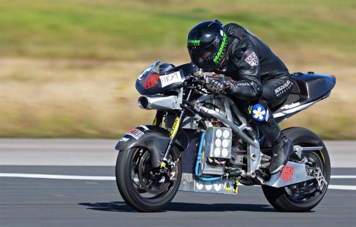 Speed Freak Zef Eisenberg electric Motorcycle world speed record
