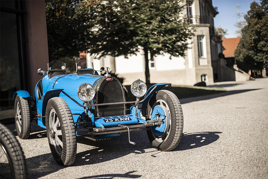 Ettore Bugatti Developed Aluminium Wheels