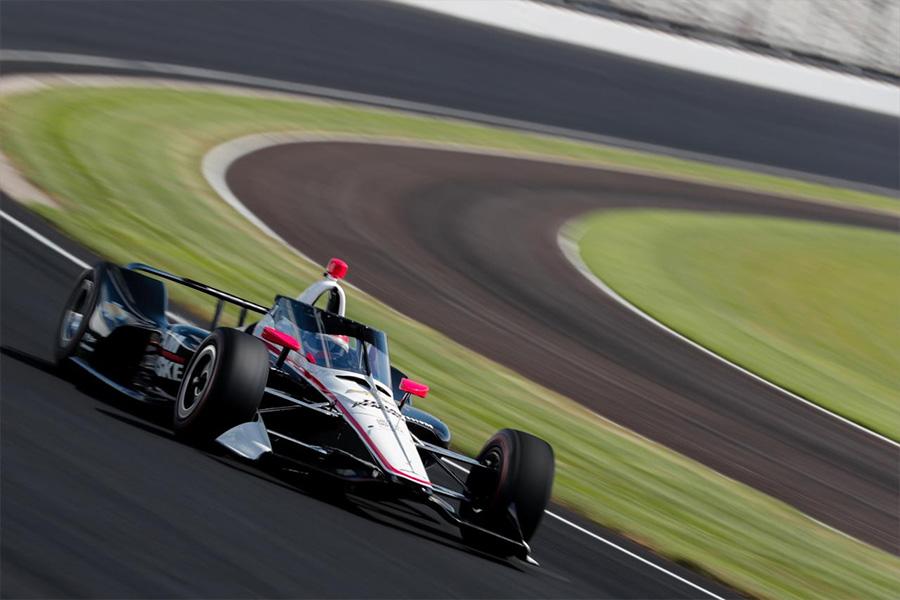 INDYCAR Aeroscreen Track Test
