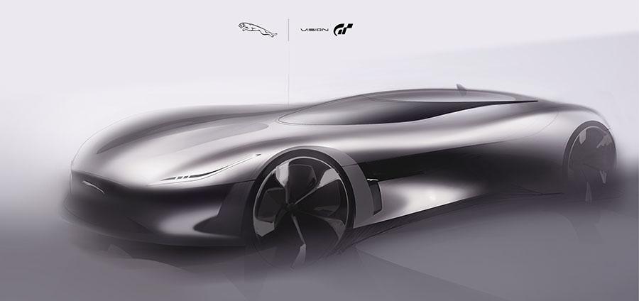Jaguar Vision GT Gran Turismo Sport