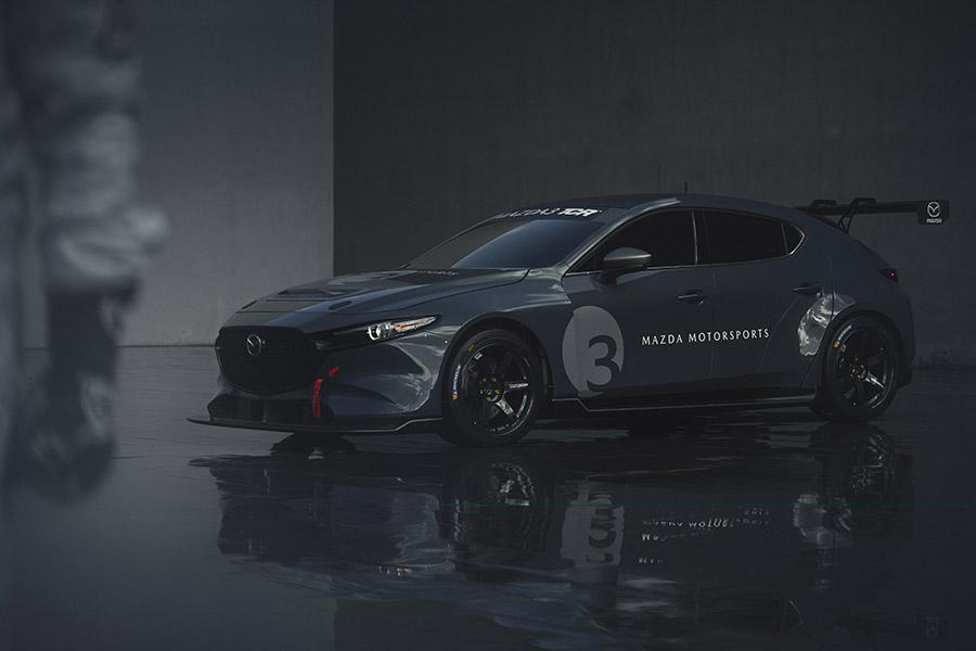 Mazda3 TCR race car