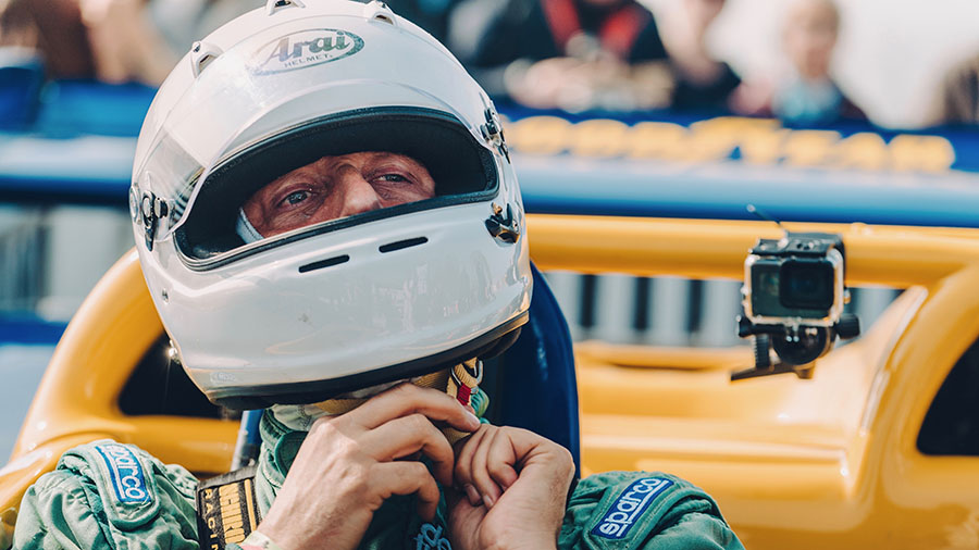Andrew Frankel Drives Porsche 917 Goodwood