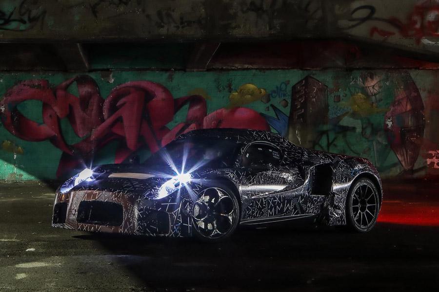 Camouflaged Maserati Mule Spotted