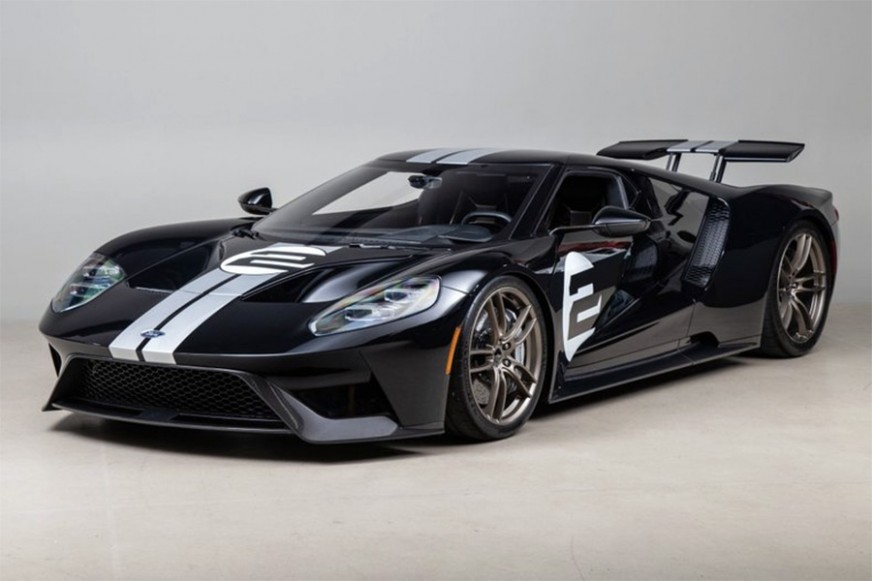 Chip Ganassi's 2017 Ford GT Heritage Edition for sale