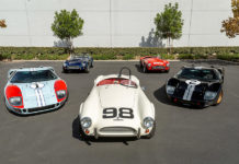 Ford v Ferrari Ford GT40 Cobra Superformance