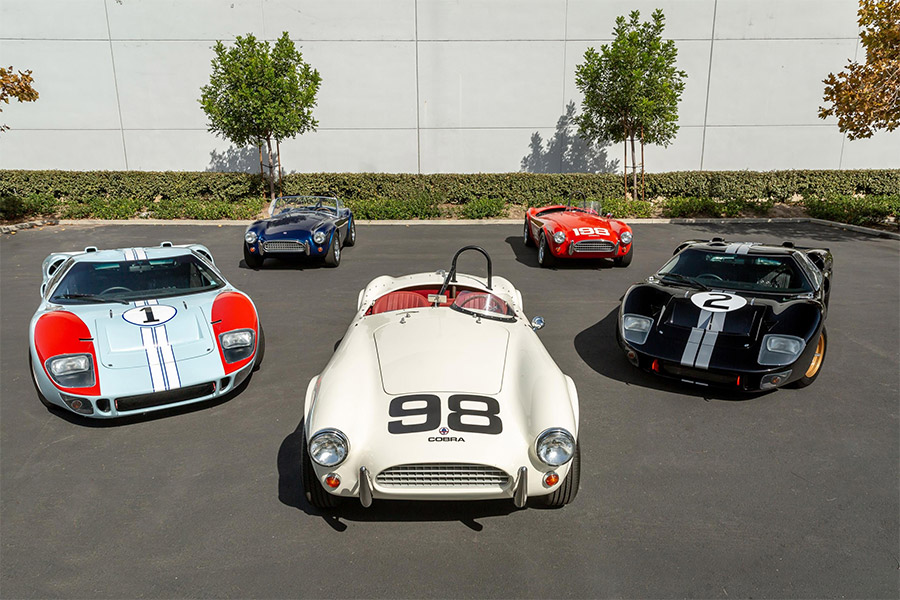 You Can Buy Gt40s And Cobras Like Those Used In Ford V Ferrari