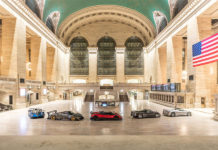 Pagani Grand Central Terminal New York City