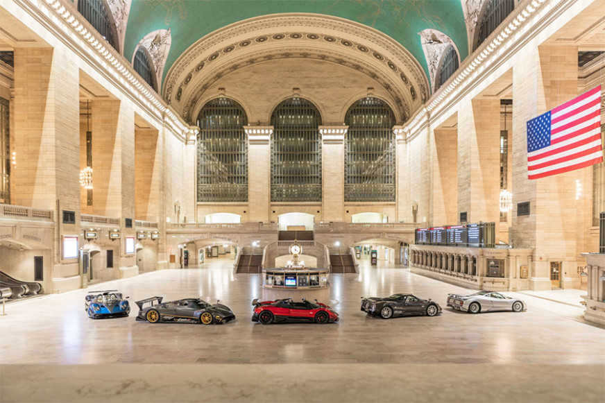 Pagani Hypercars New York Grand Central Terminal