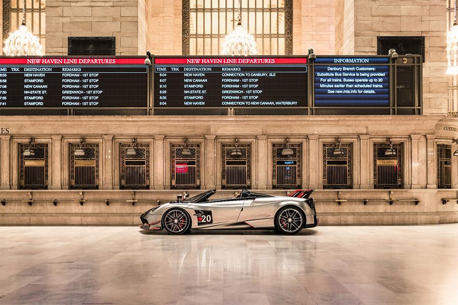 Pagani Hypercars New York Grand Central Terminal