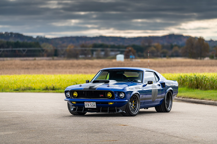 Ringbrothers 1969 Mustang Mach 1 UNKL SEMA Show