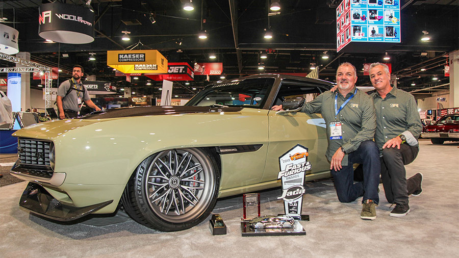 Ringbrothers Win Battle of the Builders 2019 SEMA Show