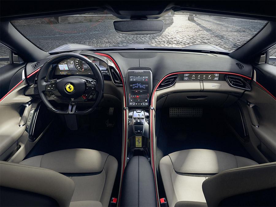 Ferrari Roma Details