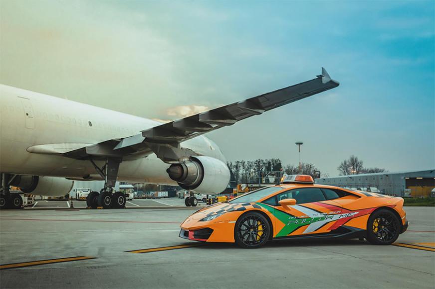 Lamborghini Huracán RWD Bologna Airport
