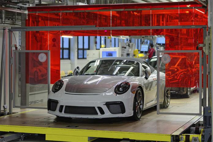 Last Porsche 911 991
