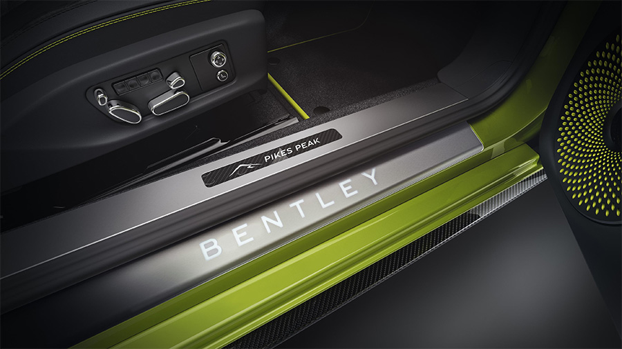 Limited Edition Bentley Continental GT Pikes Peak
