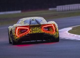 Lotus Evija Prototype Testing