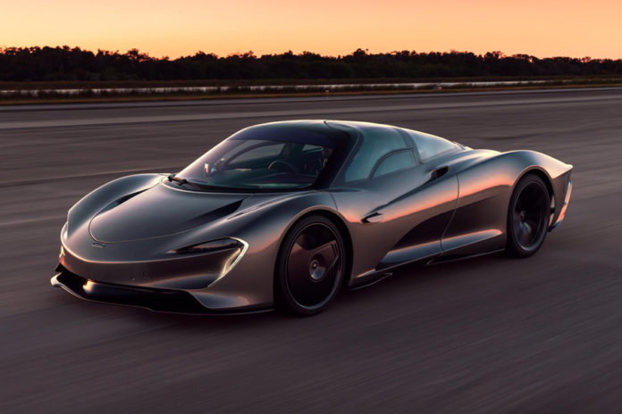 McLaren Speedtail Kennedy Space Center Testing